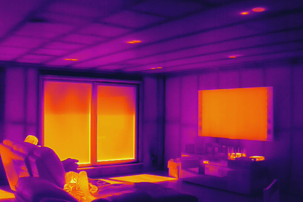 Thermal Imaging for Gaps in Insulation