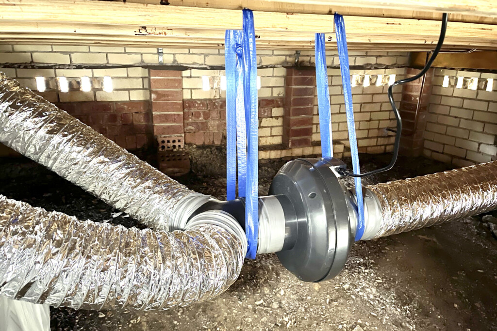 Ducted Sub Floor Ventilation System